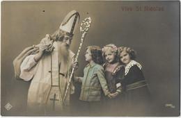 Vintage Postcard  *  Vive St. Nicolas - San Nicolás