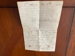 Lettre Manuscrite Autographe écrite à Saint Étienne Le 28septembre 1899 Par Jeanne Beloit Ou Jeanne Belbot - Autographes