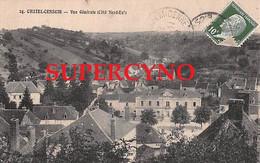 89 YONNE N°24 CHATEL CENSOIR VUE GENERALE COTE NORD EST - Sonstige Gemeinden
