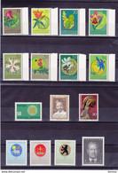 LIECHTENSTEIN 1970 ANNEE COMPLETE Yvert 469-483 + BF 11 NEUF** MNH Cote : 26,95 Euros - Ungebraucht