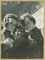 Galina Dzhunkovskaya (1922-1985) - Hero Of The Soviet Union - Rare Signed Photo - Autographes