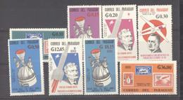 Paraguay  :  Mi  1559-66  **    Espace - Paraguay