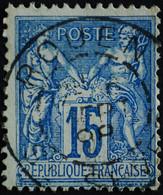 -Sage N°90. Type II  Ob  ( CAD ) ROUEN ST SEVER 1898. - 1876-1898 Sage (Tipo II)