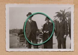 Dept 06 : ( Alpes Maritimes ) Cannes, La Croisette, Chaises, Palmier, Animée, 21 Février 1938. - Andere