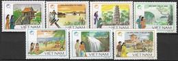 VIETNAM  # FROM 1988 STAMPWORLD 1052-58** - Vietnam