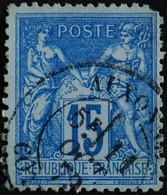 -Sage N°90. Type II  Ob  ( CAD ) AUXONNE ( 20 ) 1879. - 1876-1898 Sage (Tipo II)