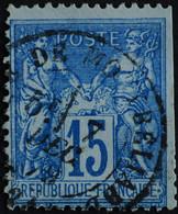 -Sage N°90. Type II  Ob  ( CAD ) GARE DE MONTBELIARD 1879. - 1876-1898 Sage (Tipo II)