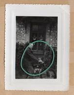 Cyclo Moteur, Mobylette, Façade Maison, Porte D'entrée, Animée, Juillet 1948. - Sonstige