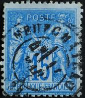 -Sage N°90. Type II  Ob  ( CAD ) NEUFCHATEAU - 82. - 1876-1898 Sage (Tipo II)