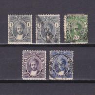ZANZIBAR 1913, SG# 246-251, Wmk Flowers, MH/Used - Zanzibar (...-1963)