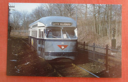 Newark City Subway Car.  Newark.     New Jersey      Ref 5223 - Unclassified