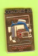 Pin's Camion De Livraison Congrès 88 - 4BB19 - Transportation