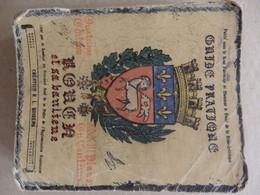 Guide Pratique 368 P. De Rouen Et Sa Banlieue (76) édité Par Le Syndicat De La Police 33 Plans Couleurs. 1953. - Dépliants Turistici