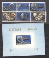 Dubaï  :  Mi  231A-36A  + Bloc  43   **   Espace - Dubai