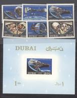 Dubaï  :  Mi  237A-42A  + Bloc  44   **   Espace - Dubai