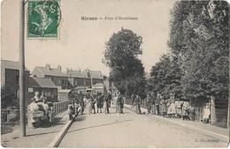 HIRSON - Pont D'Hermisson (vue Animée, Enfants, Cyclistes) - Hirson