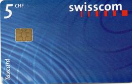 SWITZERLAND - CHIP CARD - LOGO 5 CHF - Schweiz