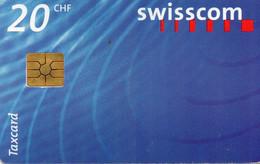 SWITZERLAND - CHIP CARD - LOGO 20 CHF - Schweiz