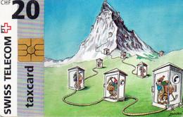 SWITZERLAND - CHIP CARD - PAINTING - Schweiz