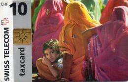 SWITZERLAND - CHIP CARD - INDIA - Schweiz