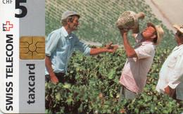 SWITZERLAND - CHIP CARD - WORKERS - Schweiz