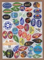 AC - FRUIT LABELS Fruit Label - STICKERS LOT #136 - Fruits & Vegetables
