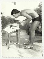 MEN MAN - Muscular Athlete Boy Boys Swimsuit -  Photo 87 X 63 Mm ,  Friends , Jeune Homme - Anonieme Personen
