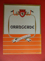 Etiquette Sirop ORNGEADE  Pur Sucre - Illustration L. RUEL Poitiers N° 708 - Fruits & Vegetables