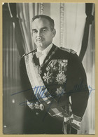 Rainier III Prince Of Monaco (1923-2005) - Rare Authentic Signed Photo - COA - Autographes