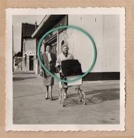 Endroit à Définir, Photo, Commerce, Bar, Habitation, Rue, Trottoir, Landau, Animée, Année 60. - Andere