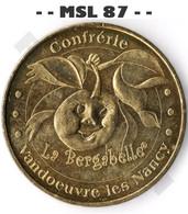 - - 54 - Vandoeuvre Les Nancy - Confrérie De La Bergabelle - MDP - ACHAT IMMEDIAT - - - 2009