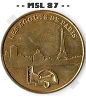 - - 75 - Paris - Les Egouts De Paris - Sous La Capitale - MDP - ACHAT IMMEDIAT - - - 2003