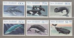 New Zealand 1988 Whales Of The Southern Ocean MNH(**) Mi 1056-1061 #31590 - Ongebruikt