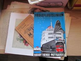 Fugleflugtslinien Rodby Faerge Puttgarden Denmark Fary - Dépliants Turistici