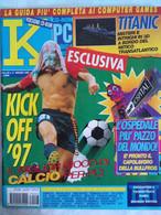 K Pc Games 3/97 Kick Off Theme Hospital Dragon Lore Terminator Skynet Sega Rally Panzer Dragoon Killing Time Eradicator - Informatica