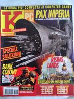 K Pc Games 8/97 Men In Black Fifa Monkey Island Brokensword Jedi Knight Sonic 3d Grand Theft Resident Evil Excalibur - Informatica