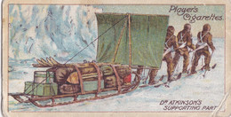 Dr Atkinsons Party  -  Polar Exploration 2nd 1916 - Players Cigarette Card - Antique - - Wills