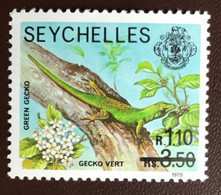 Seychelles 1979 Gecko Reptiles Surcharge MNH - Non Classificati