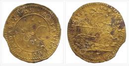Nuremberg Jeton - Rechenpfennig / Very Rarity / Michael Leikauf Or Leykauff 1724-1768 / Ship / BEDENCK.DAS.ENDE.ANFANG / - Notgeld