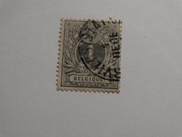 COB 43 1c Gris - 1869-1888 Lion Couché