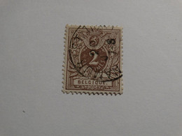 COB 44 2c Brun. - 1869-1888 Lion Couché