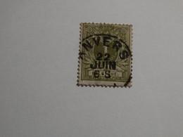 COB 42 1c Réséda - 1869-1888 Lion Couché
