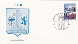 Enveloppe FDC 1448 Gerrardsbergen Theux - 1961-70