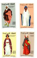 1969 - Marocco 590/93 Costumi Tradizionali - Costumi