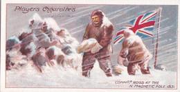 8 Cdr James Ross N Pole 1831 -  Polar Exploration 1915 - Players Cigarette Card - Arctic - Antique - Wills