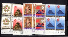 Vaticano (1970) - Esposizione Universale Di Osaka, In Quartine (o) - Usati