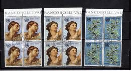Vaticano (1970) - 25° Anniversario Delle Nazioni Unite, In Quartine (o) - Usati