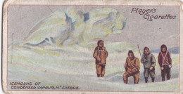 14 Mount Erebus -  Polar Exploration 1915 - Players Cigarette Card - Arctic - Antique - Wills