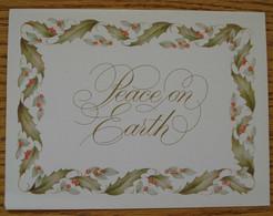 CHRISTMAS CARD HAND SIGNED AUTOGRAPH PRINCESS ALEXANDRA SIR ANGUS OGILVY - Autographes