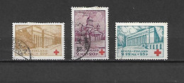 FINLANDIA - 1932 - N. 170/72 USATI (CATALOGO UNIFICATO) - Gebraucht
